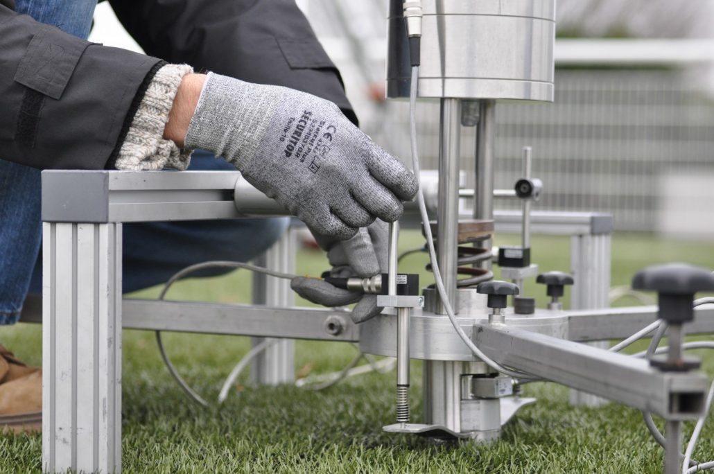 Sports surface testing- labosport